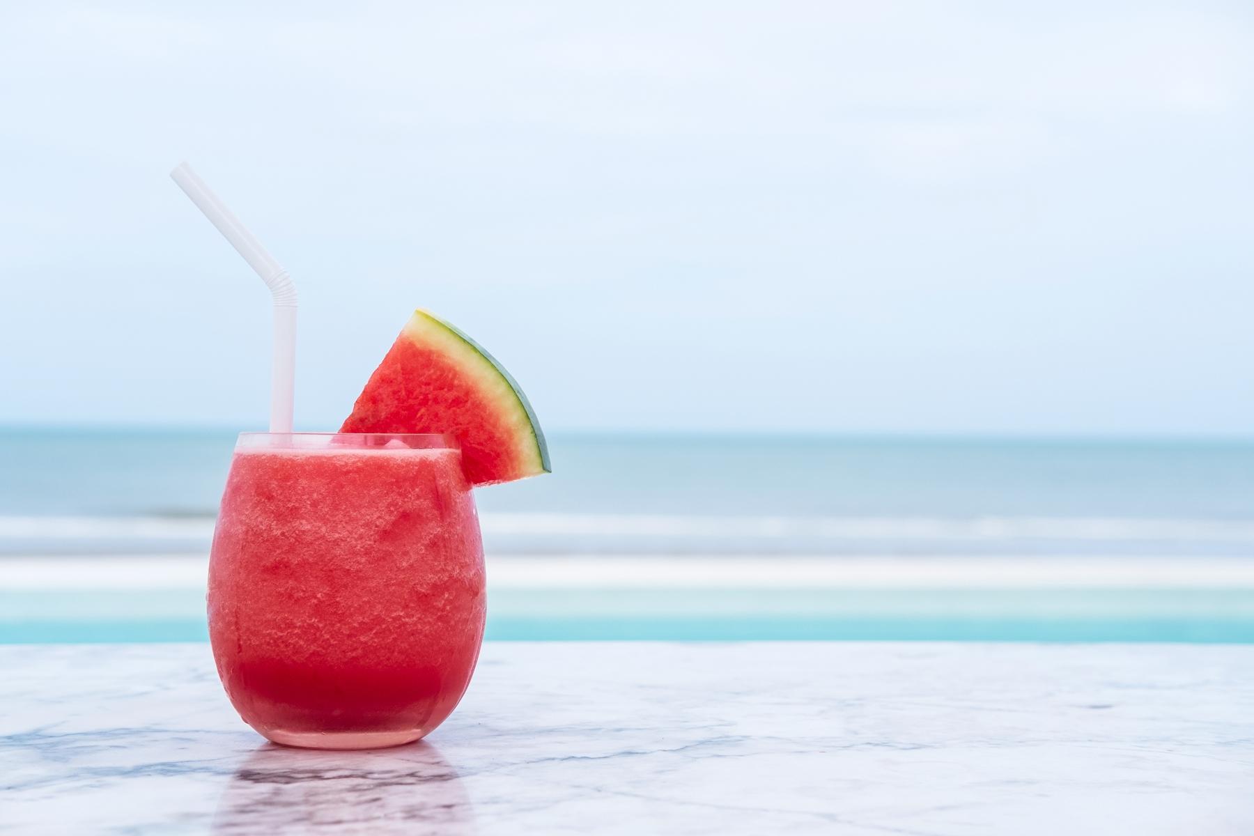 Belgische kust cocktail aan de vloedlijn