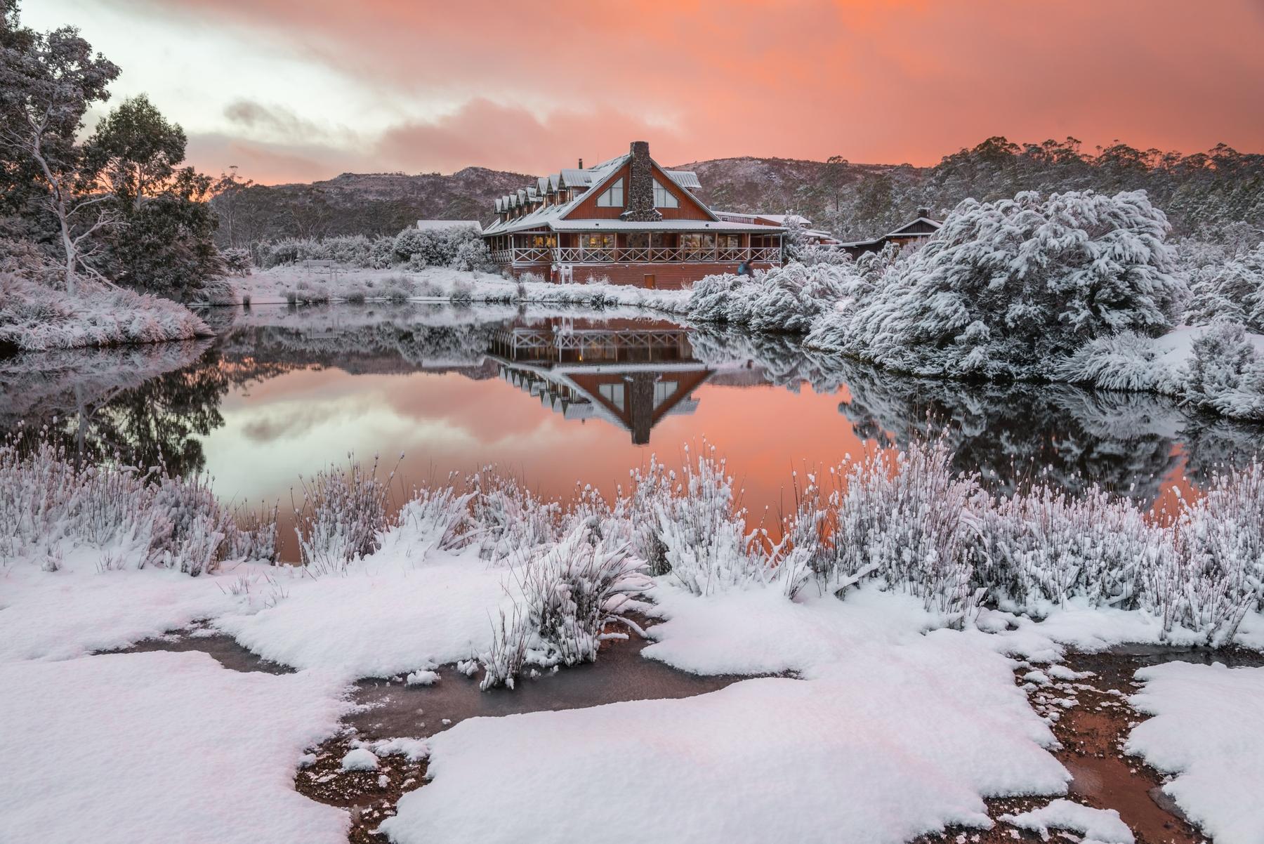 Peppers Cradle Mountain Lodge in Tasmania