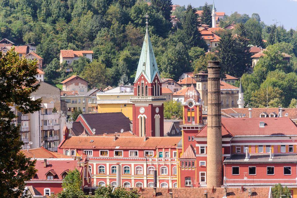 Ενδιαφέρουσα αρχιτεκτονική του Σεράγεβο