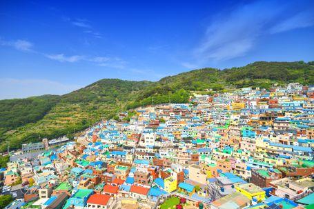 「韓国のマチュピチュ」甘川文化村