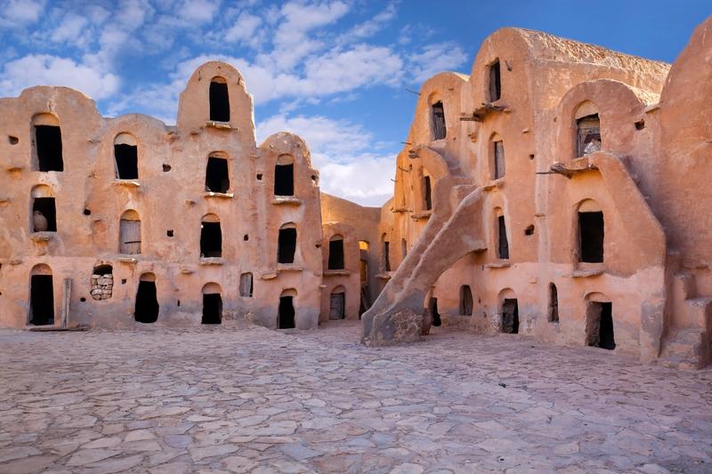 Desert houses, Tunisia