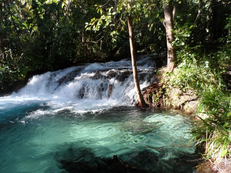 Cachoeira do Formiga, no Jalapão –um dos melhores lugares para onde viajar em fevereiro