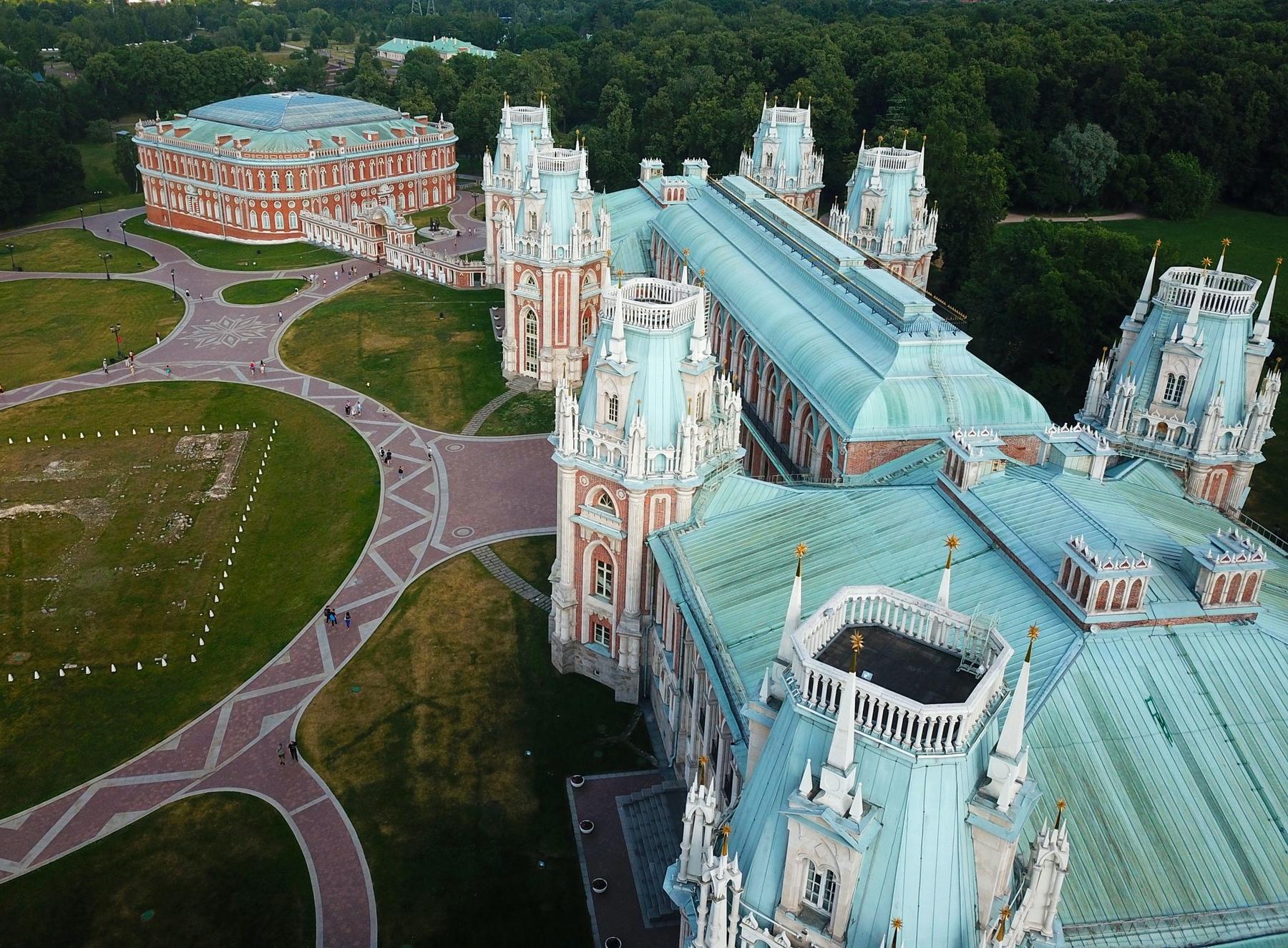Список дворцов и замков России был бы неполным без дворца в Царицыно