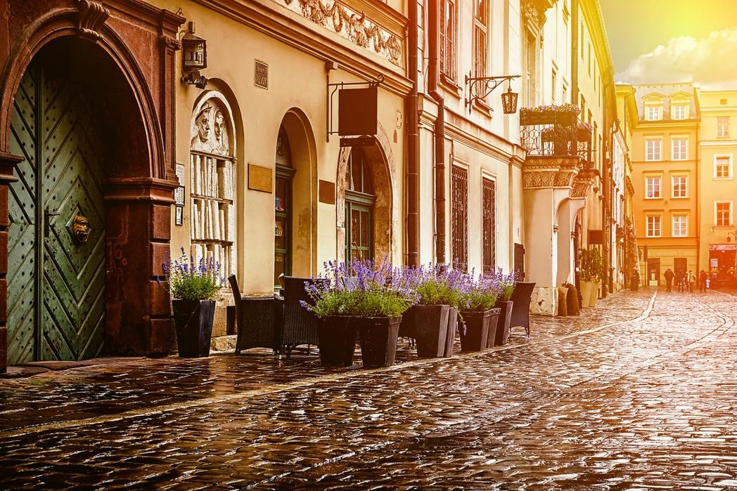 Kraków w maju jest urokliwy...jak zawsze.