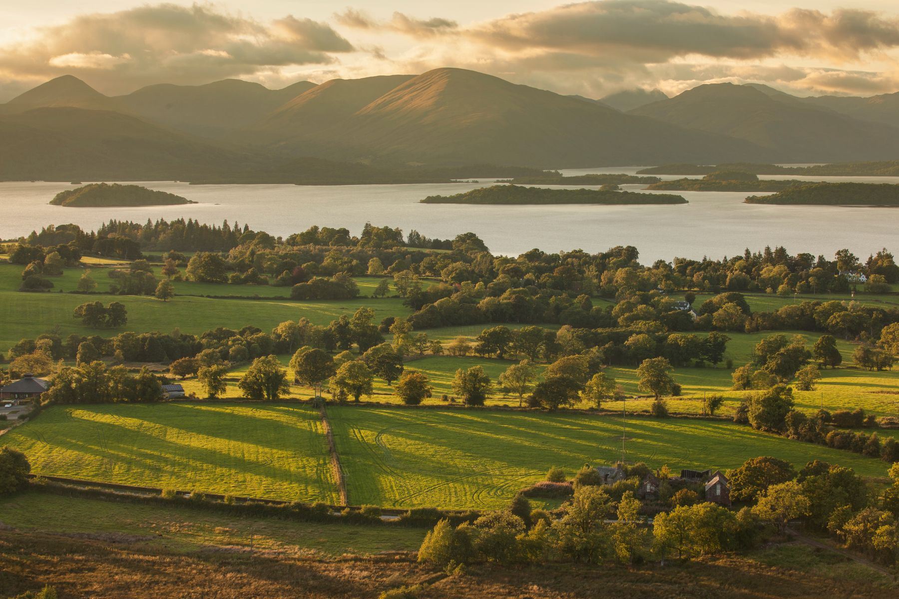 Loch Lomond, one of Scotland's top tourist attractions