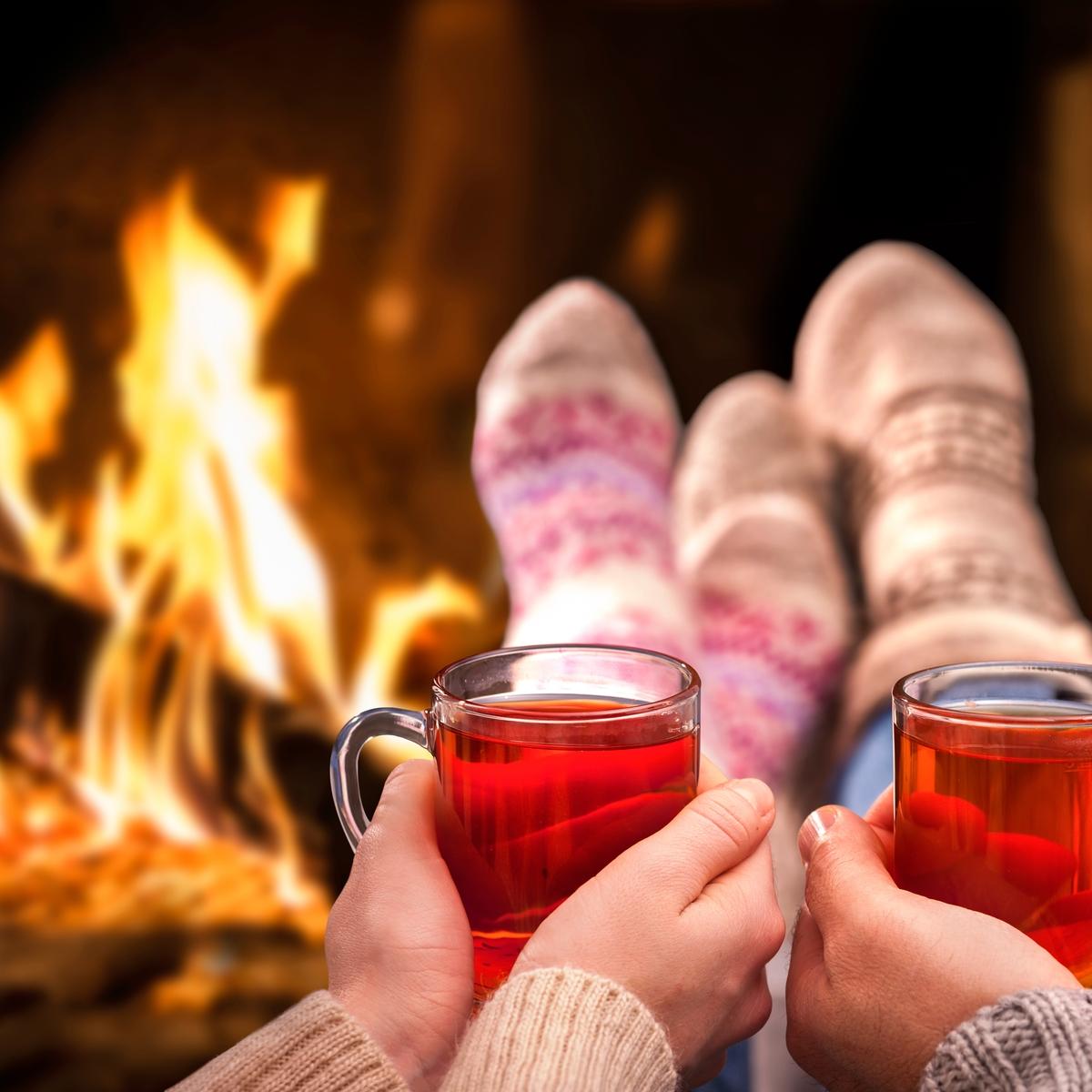 Winter in Deutschland - Tipps gegen den Winterblues: Kuschelecke einrichten