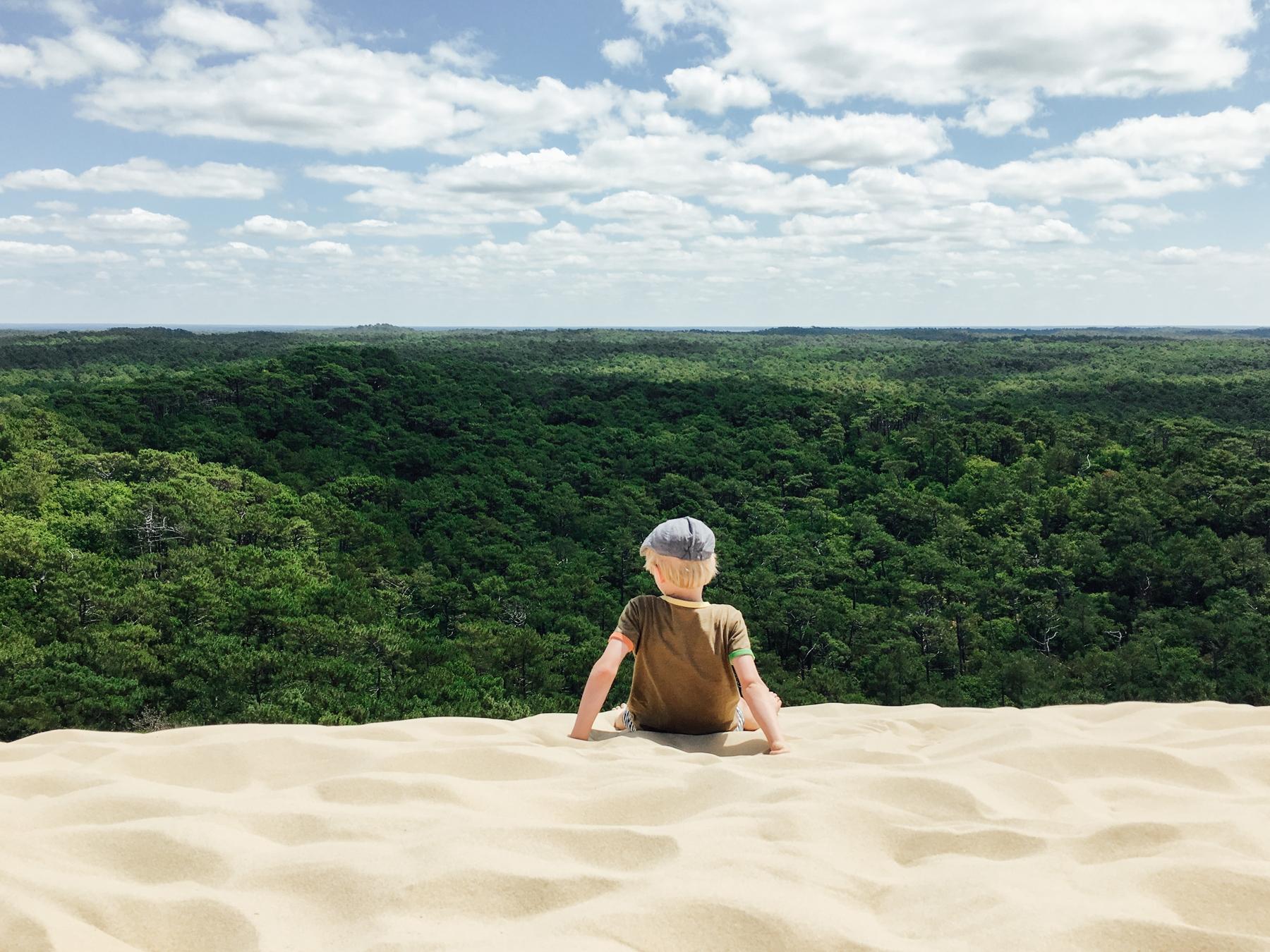 la Dune du Pilat est une belle destination pour partir en mai