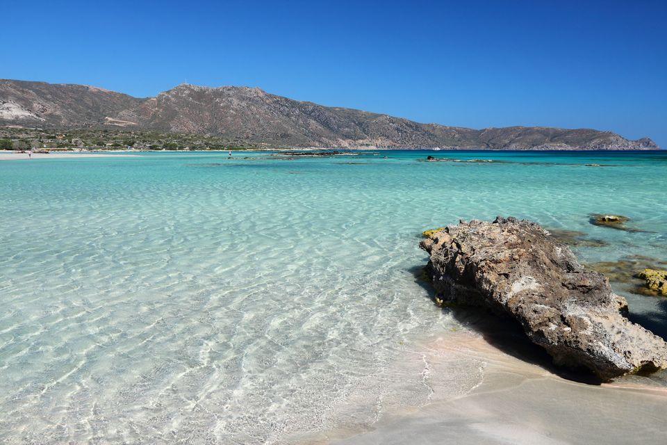 Μία από τις καλύτερες παραλίες της Ελλάδας είναι και το Ελαφονίσι της Κρήτης
