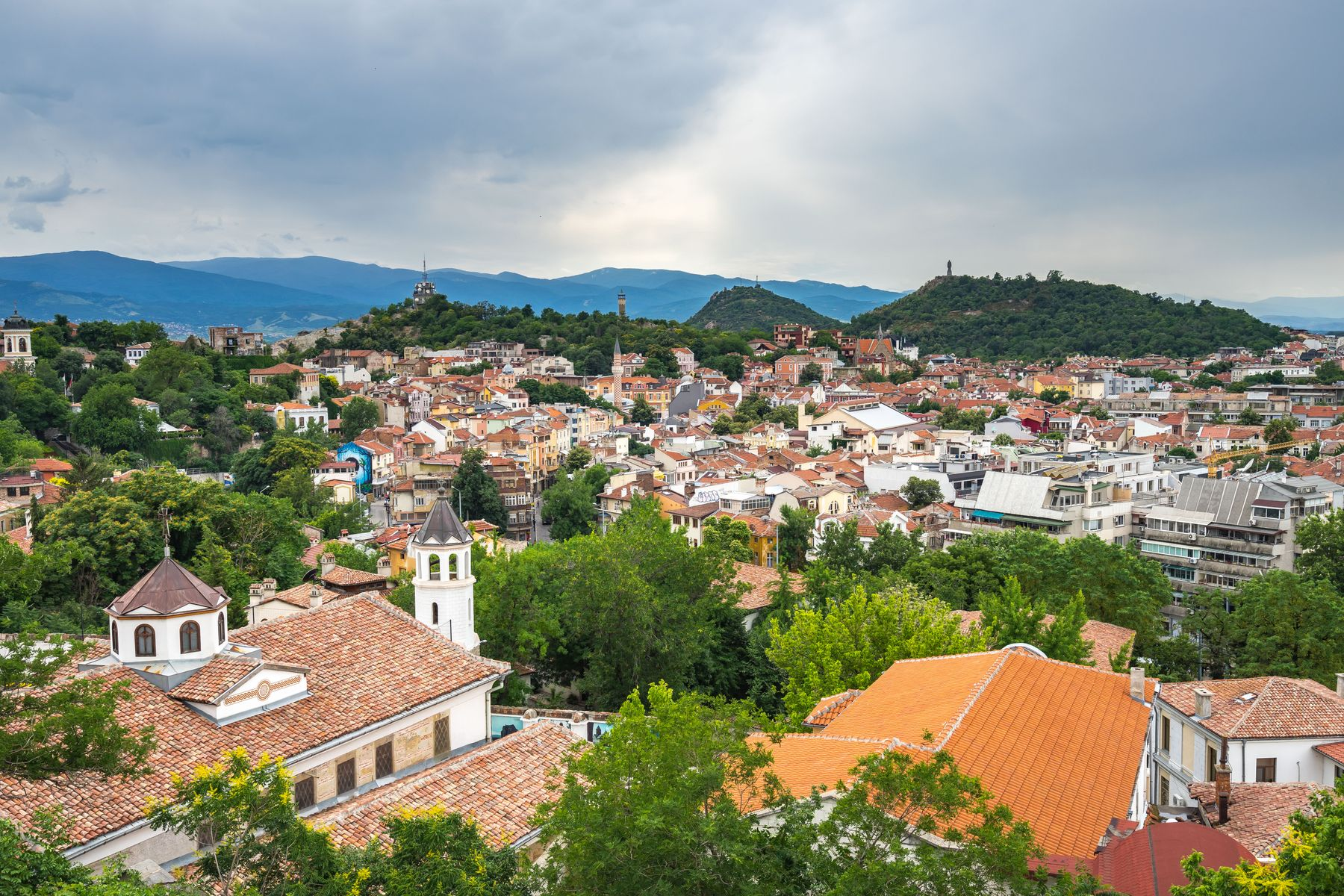 Plovdiv, na Bulgária, é uma das cidades mais antigas da Europa.