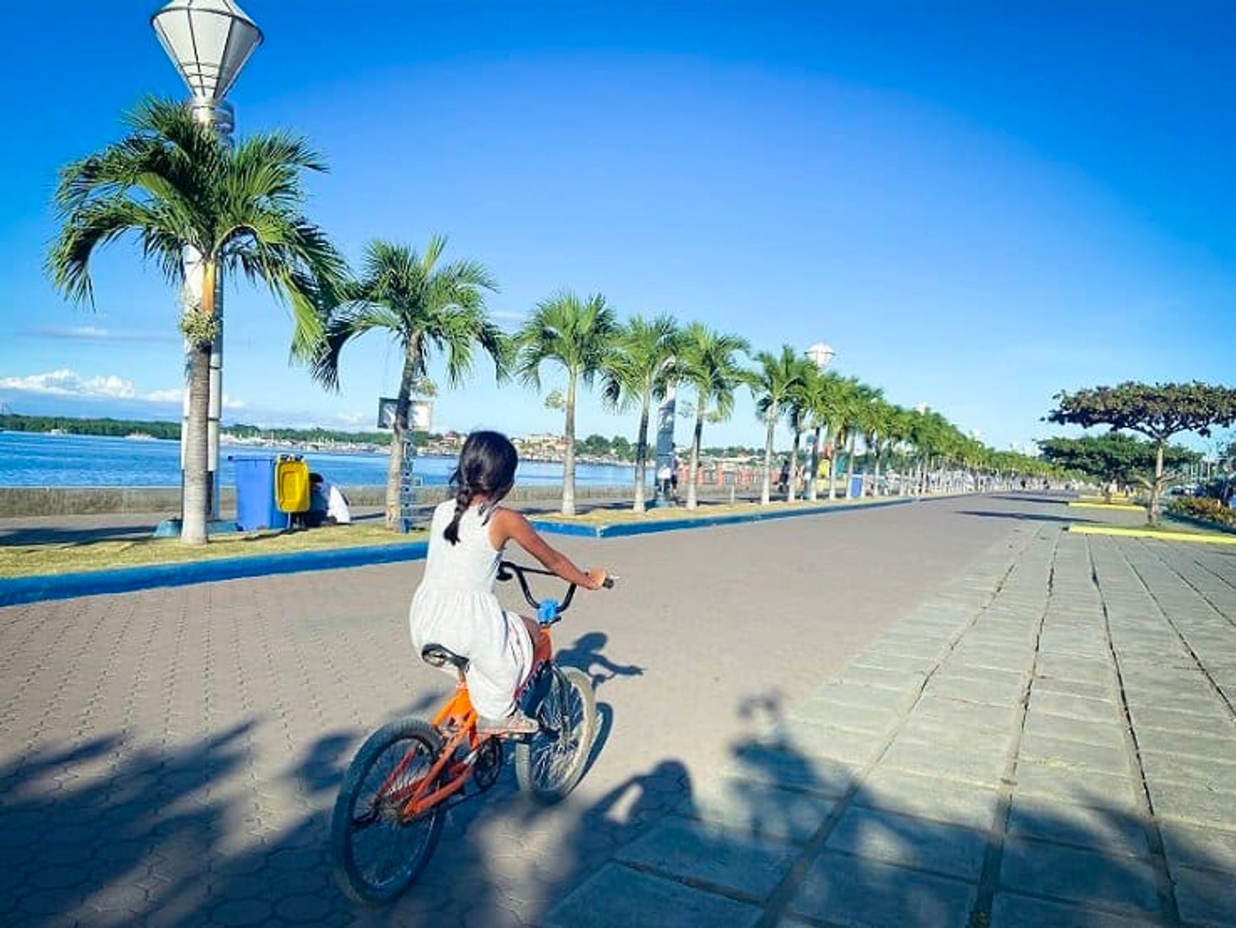 Riding Bicycles in Puerto Princes, Philippines (February 2020)