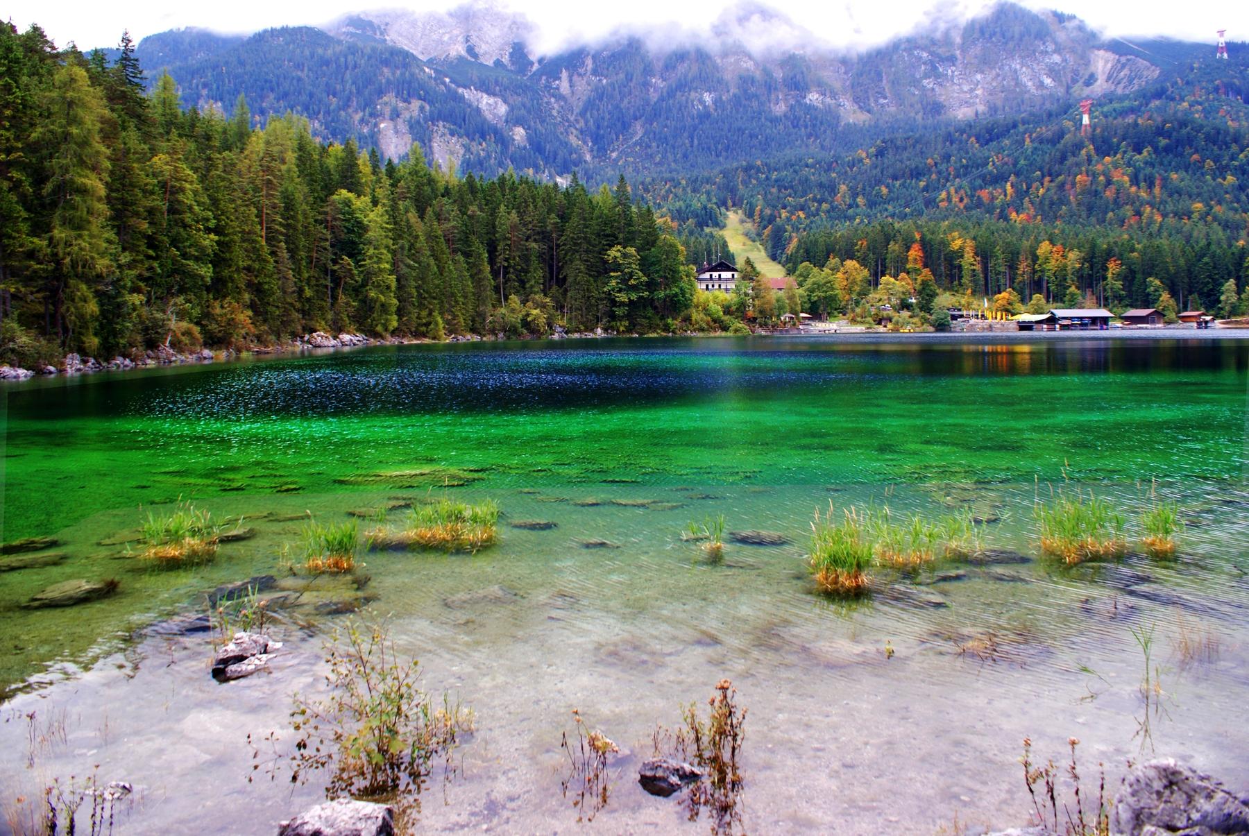 Seen und Badeseen in Deutschland: Eibsee in Bayern