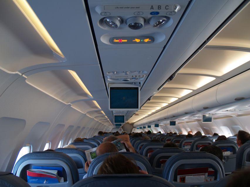 Μέσα στην καμπίνα του αεροσκάφους