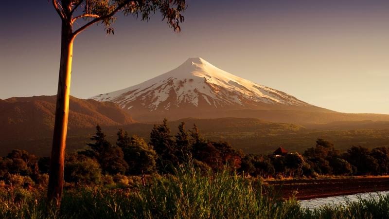 Viaggio in Cile, Pucon, vulcano