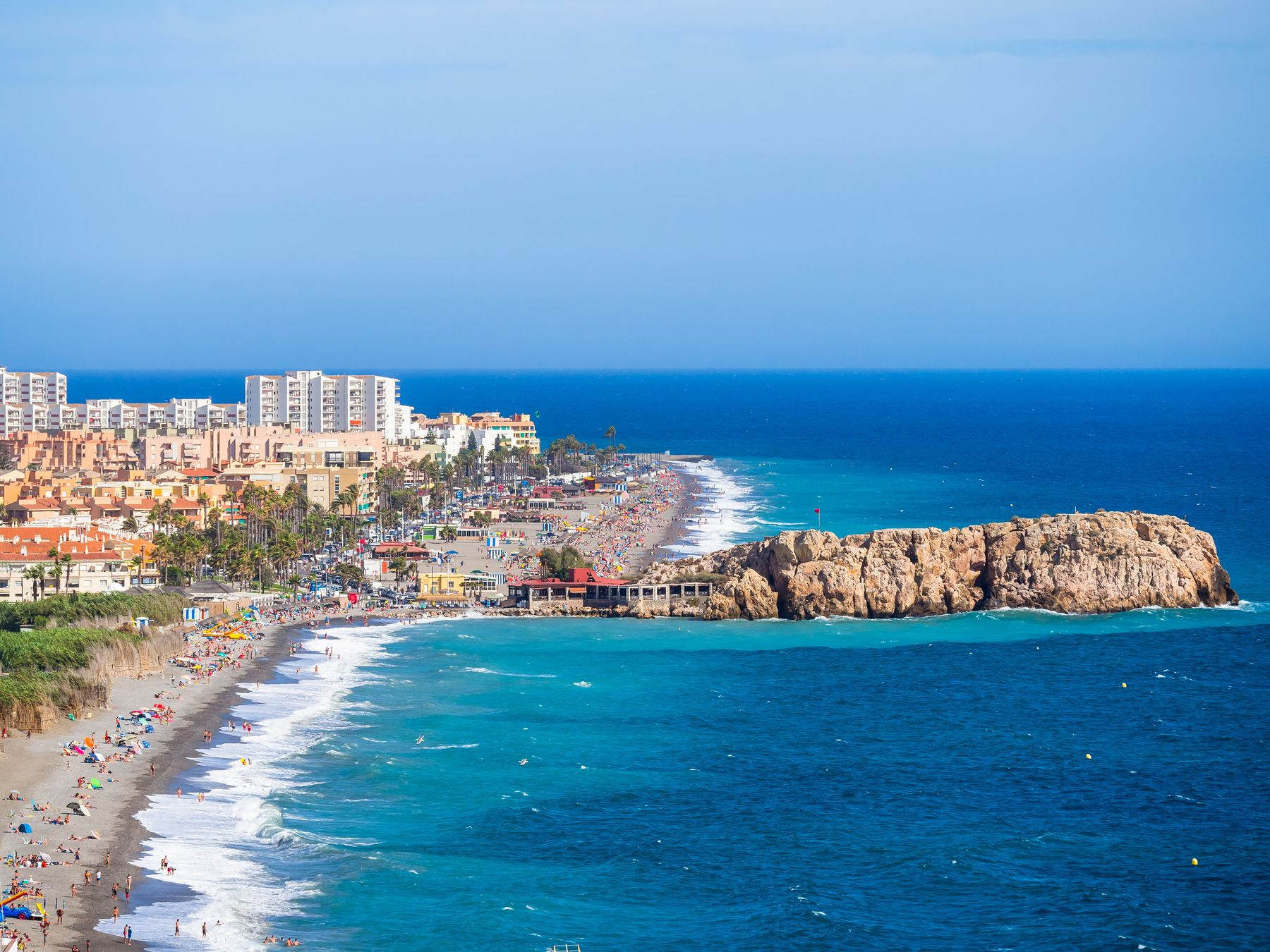Salobreña, playas bonitas de Andalucía