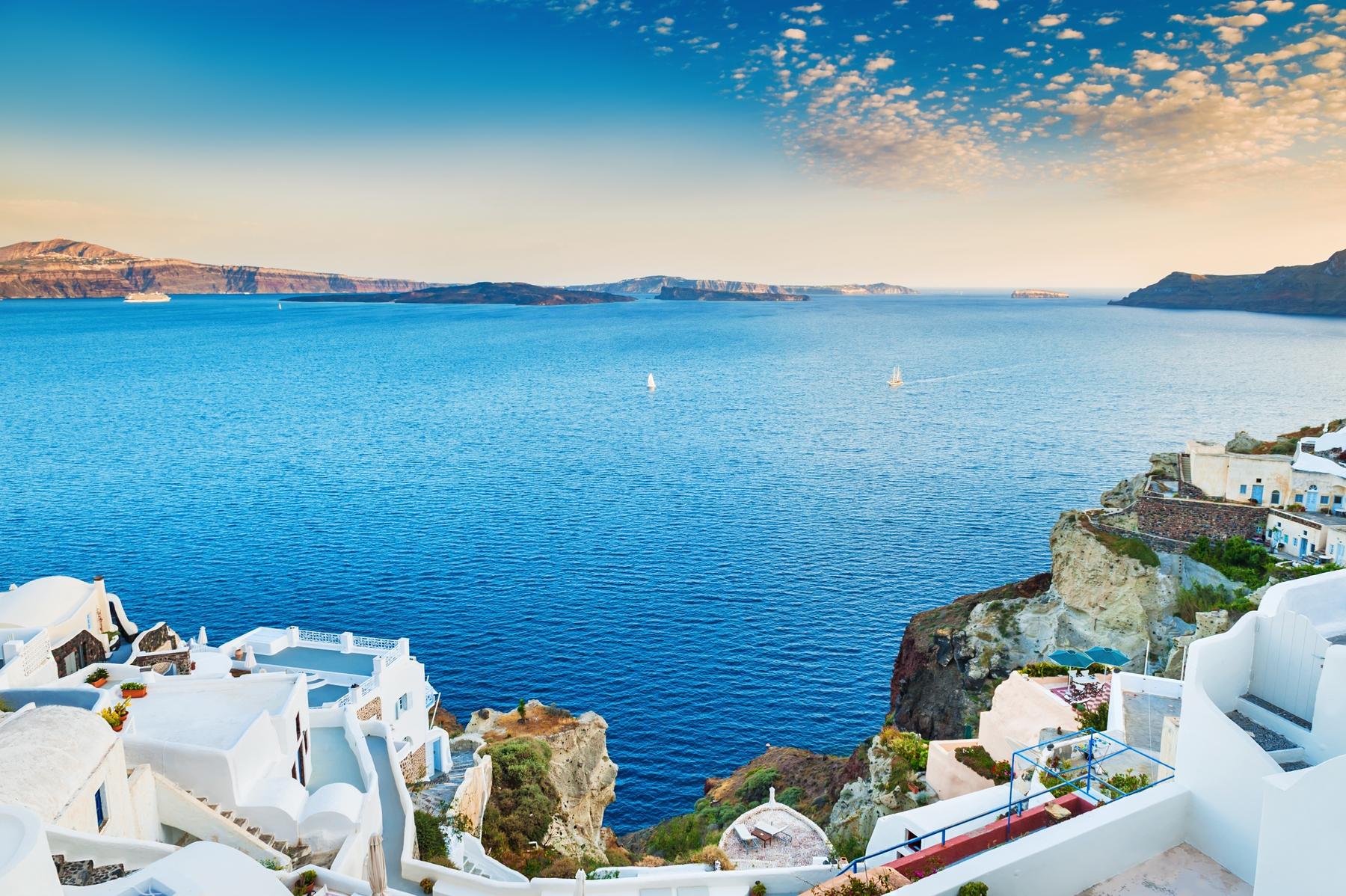 Отдых в сентябре. Греческий остров Санторини
