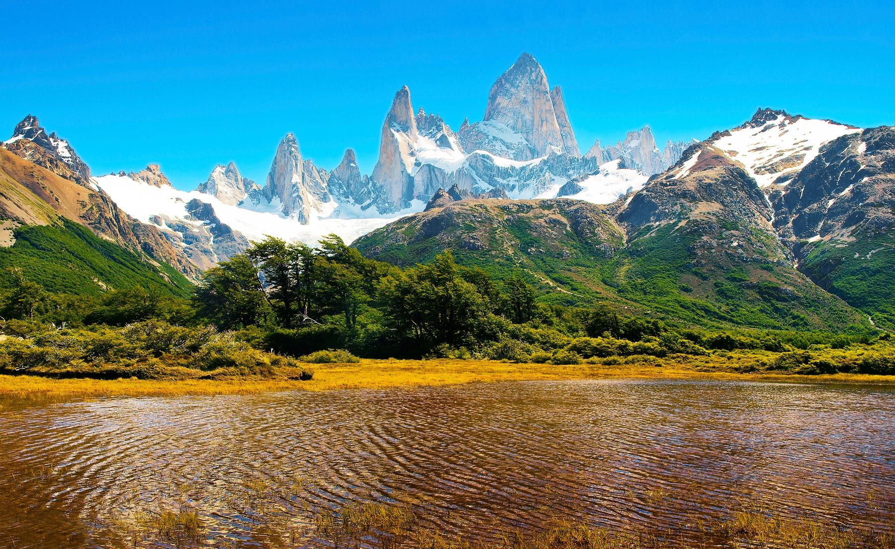 Países más grandes: Glaciares en Argentina