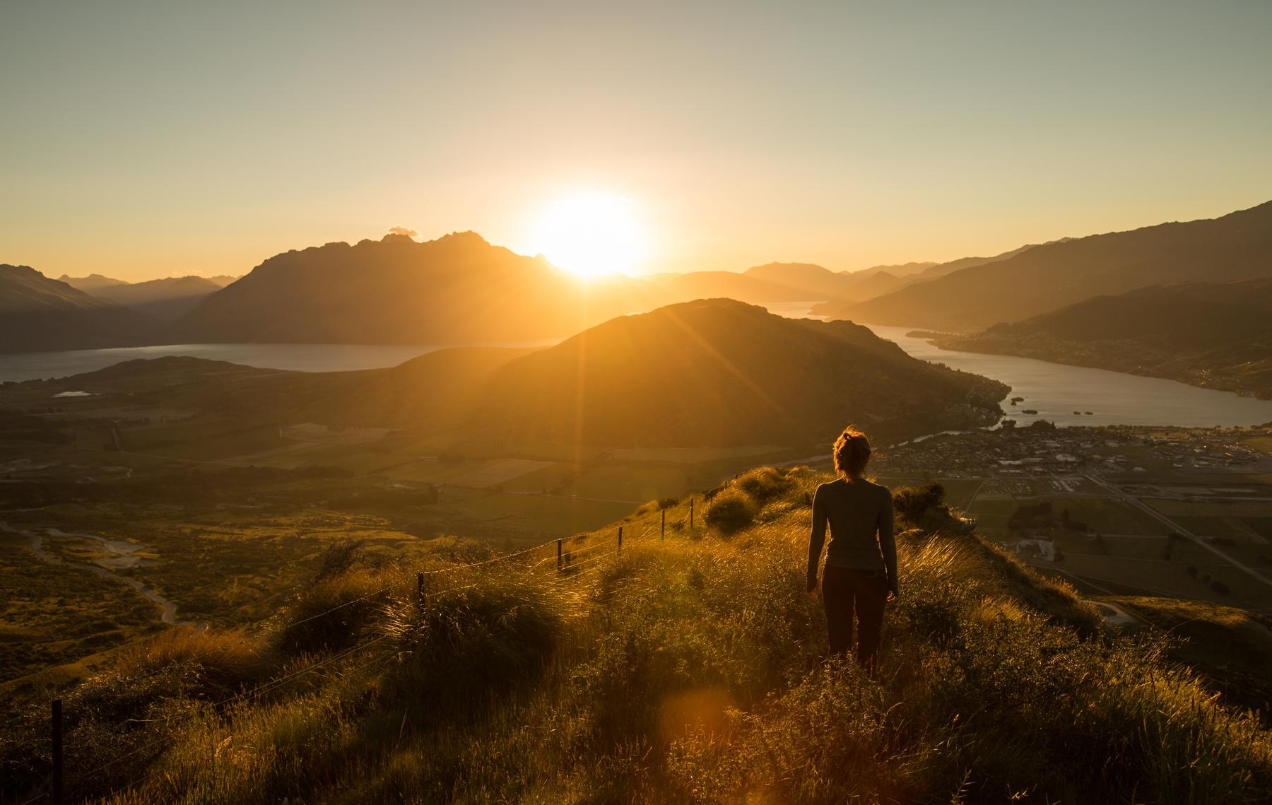 Hiking in New Zealand; New Zealand is open now to Australian trekkers
