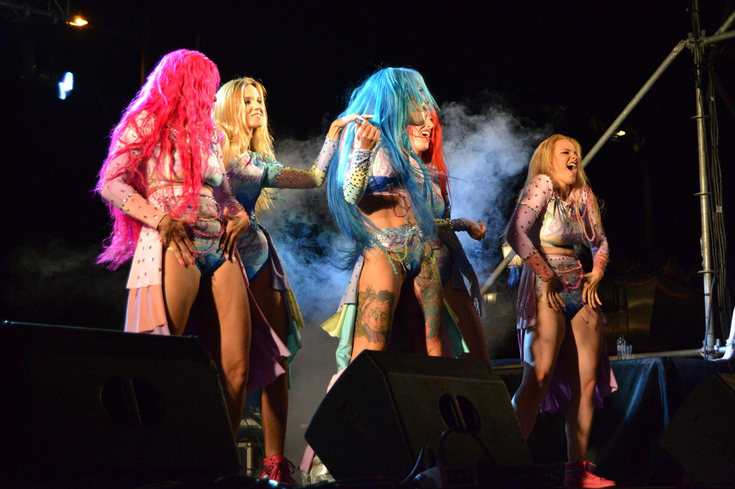 Gay Pride performers in Barcelona - one of the best party cities in Europe