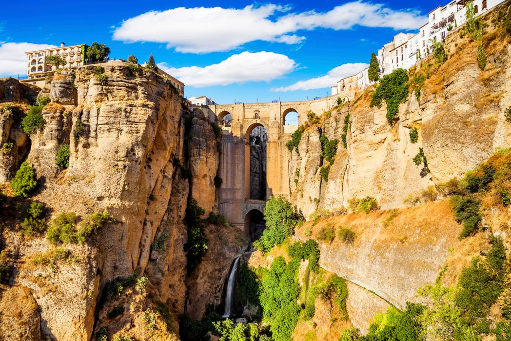 Ronda's spectacular Puente Nuevo, one of the best things to see on a holiday to Malaga
