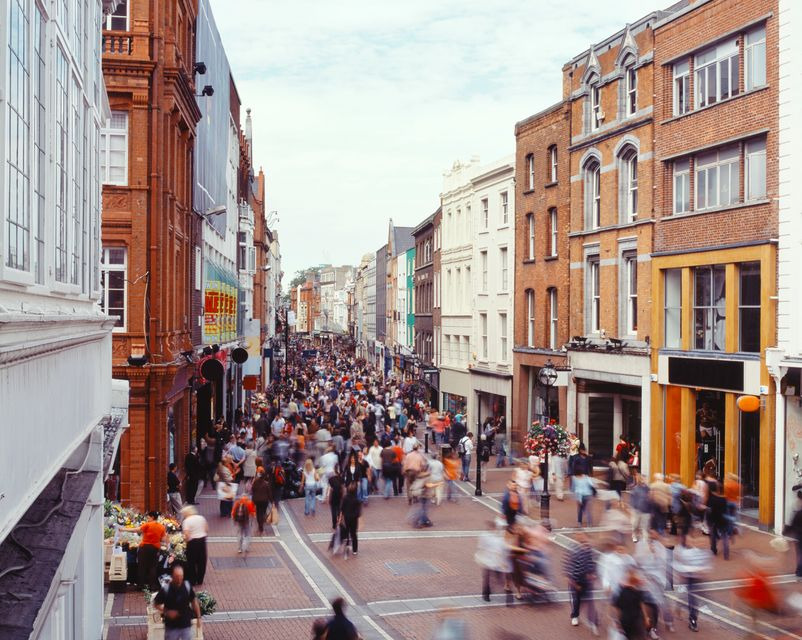 Grafton Street, Dublin, one of the 10 most famous filming locations in Ireland