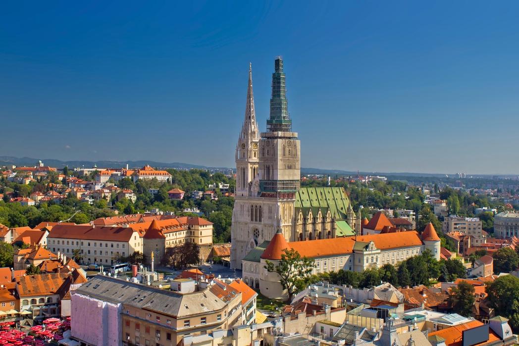 To Zάγκρεμπ από ψηλά - 8 καλοί λόγοι για ένα ταξίδι στην Κροατία την άνοιξη 2020