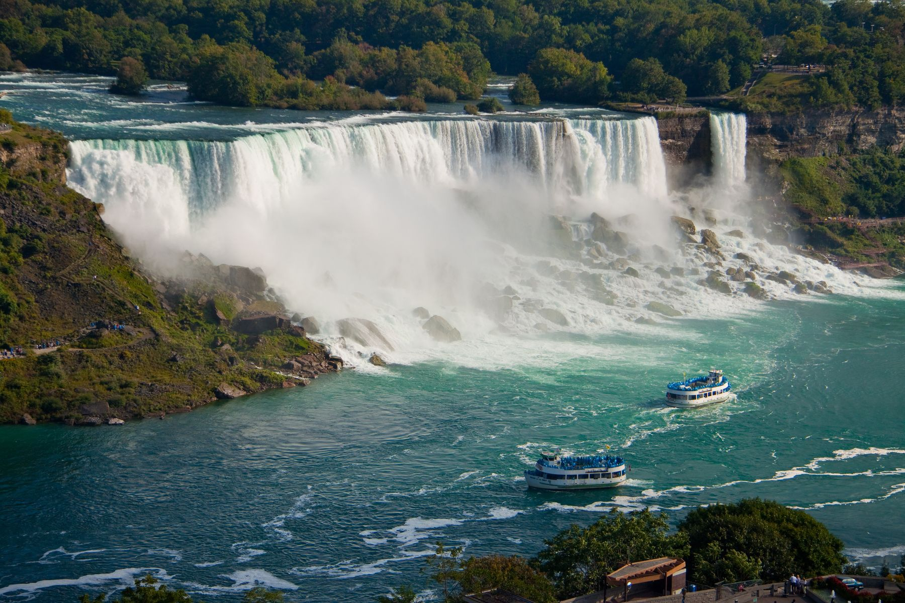 niagara falls is one of Ontario's top attractions