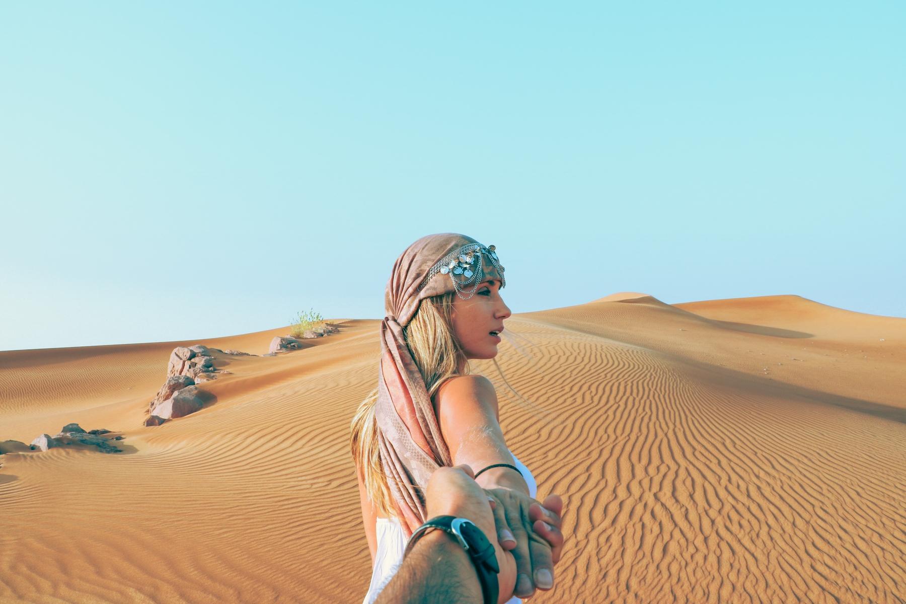 Traumreiseziele: Wüstentour in Dubai
