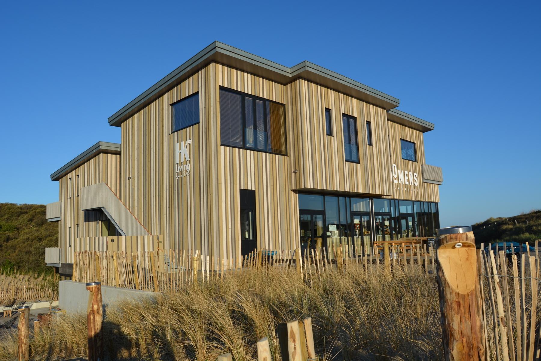 Hotels aan de kust in Nederland: Strandhotel Zoomers Castricum
