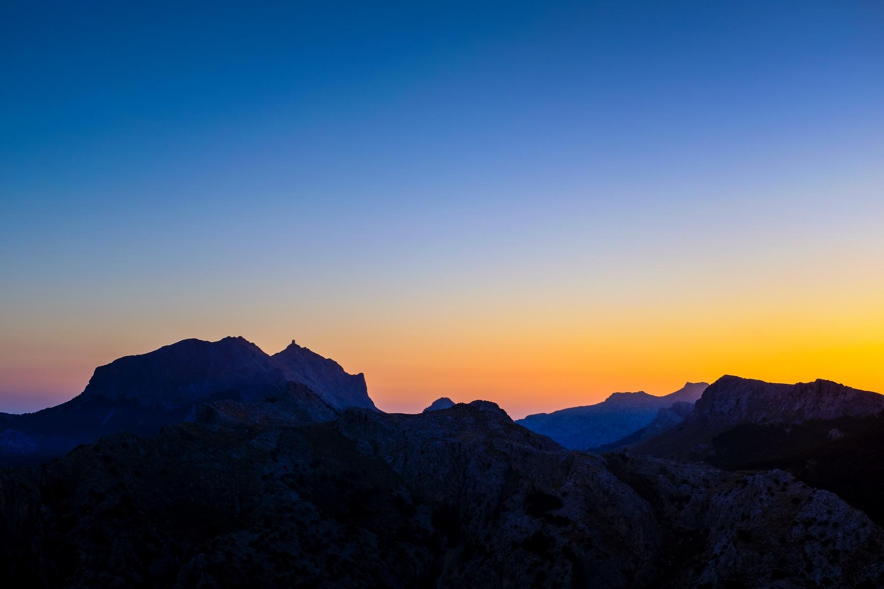 El Puig Major es el pico más alto de Islas Baleares y se halla en la Sierra de Tramuntana