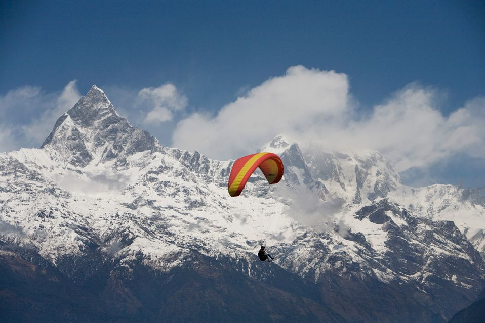 Параглайдинг в Непале