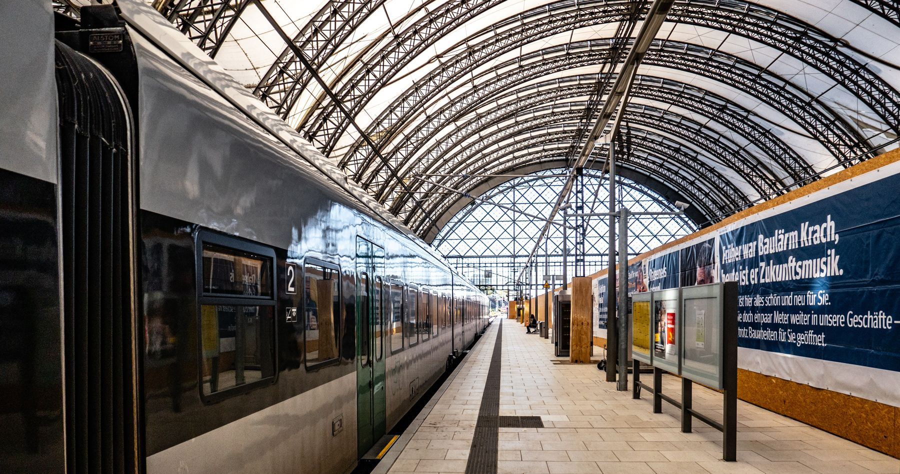 Vous pouvez voyager en train dès aujourd'hui