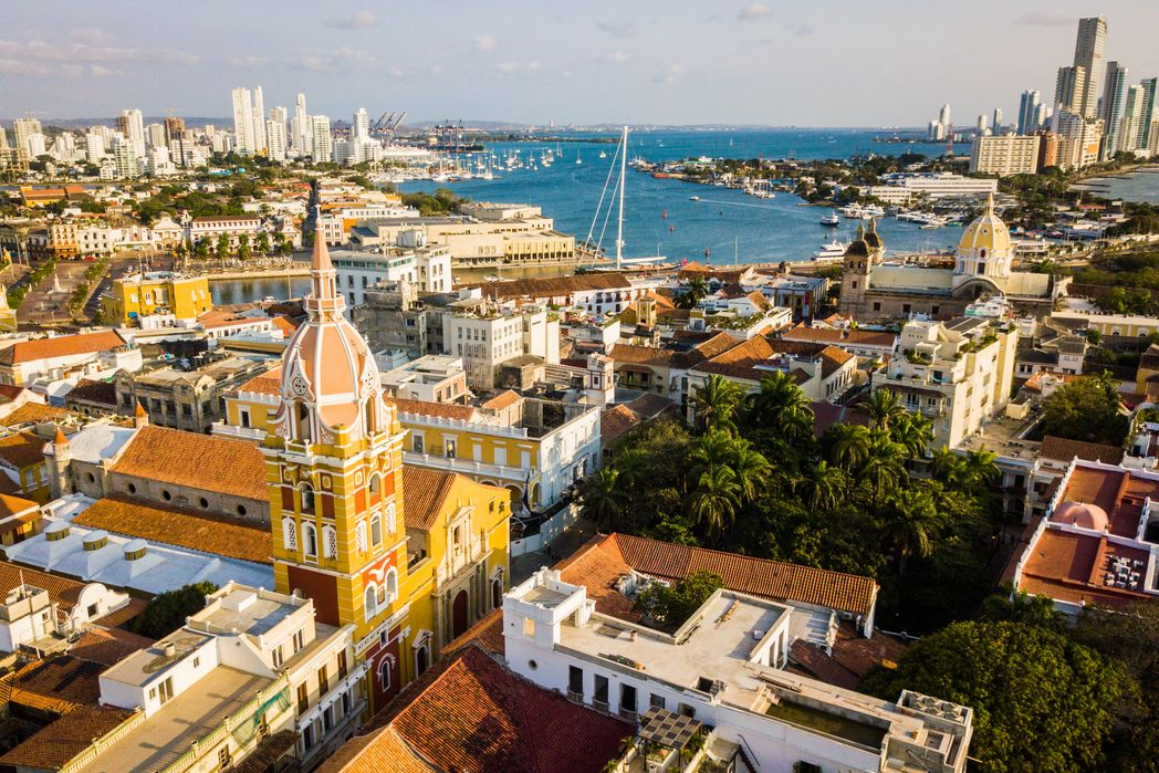 Cartagena harbor and old town - 10 day Colombia itinerary