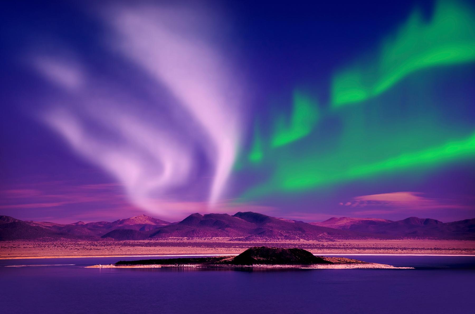 Самые необычные явления природы: северное сияние (Aurora Borealis)