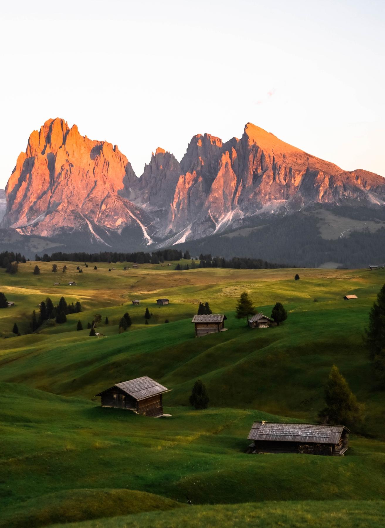 Die Seiser Alm ist ein absolutes Muss bei einer Alpen Rundreise