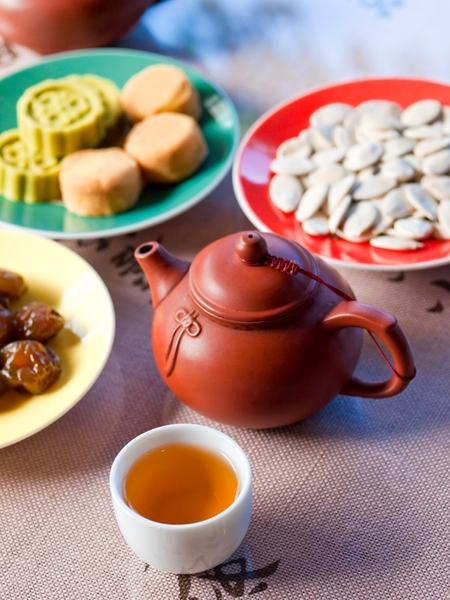 té chino tradicional en maokong, taiwán