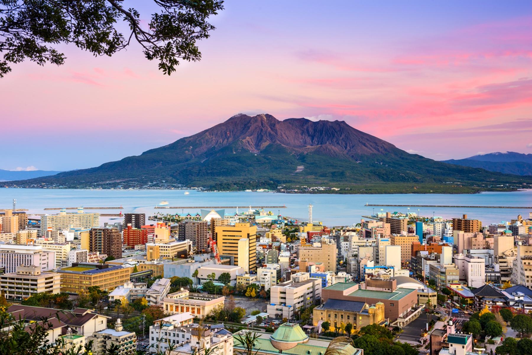 鹿児島のシンボルとも言える桜島