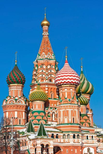 Die schönsten Städte Russlands: Moskau
