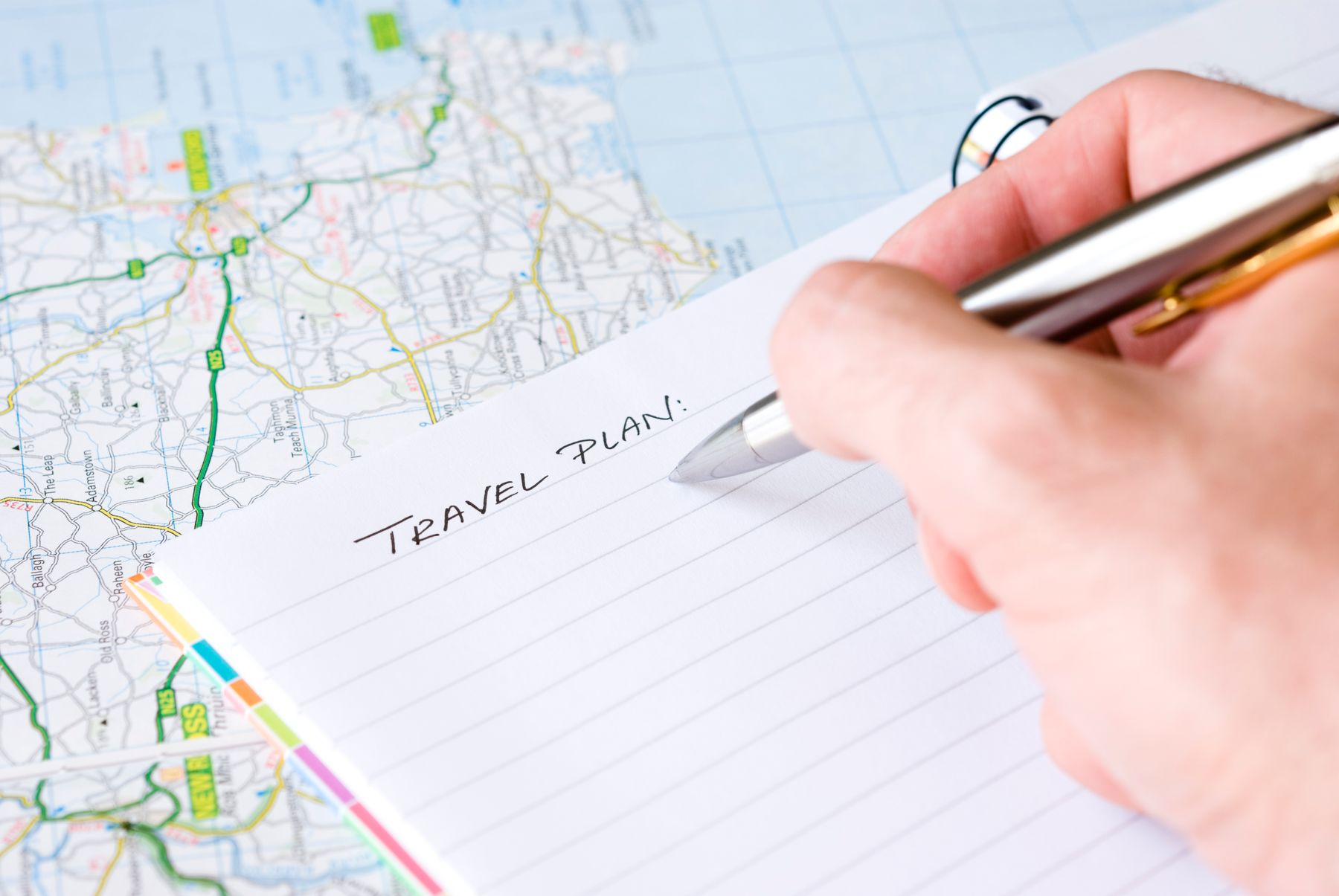 travel planning journal