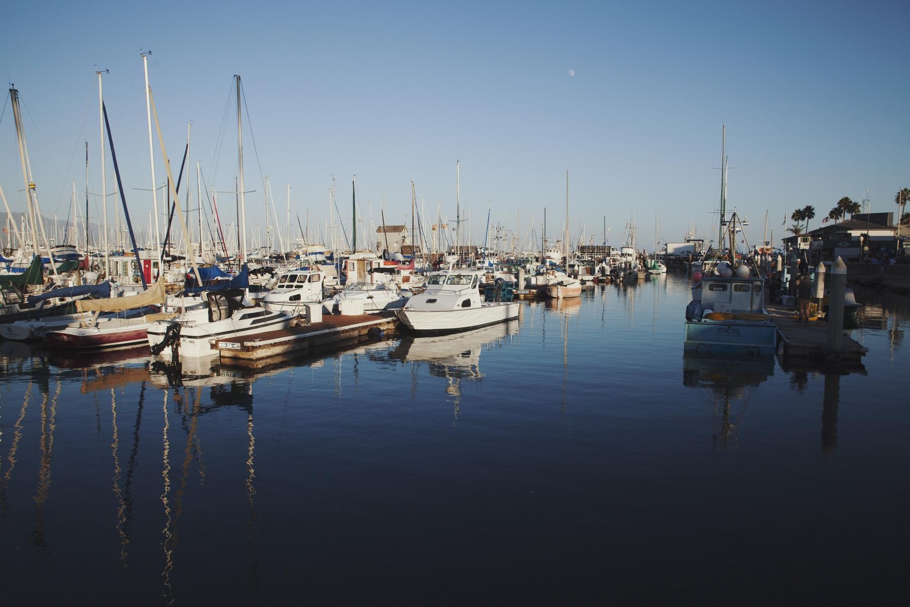 The Santa Barbara Wharf