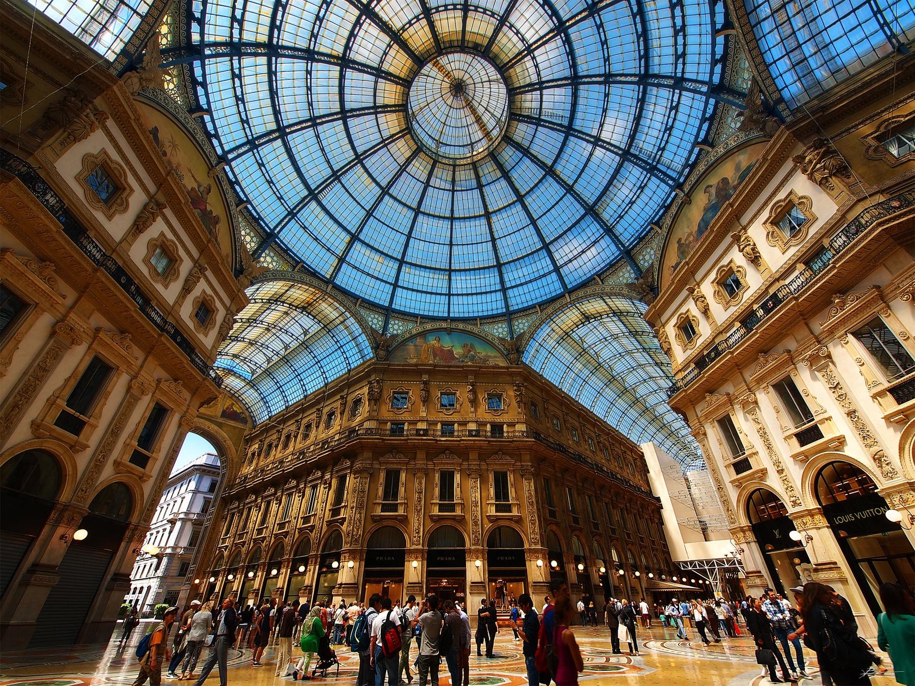 Галерея Виктора Эммануила II в Милане