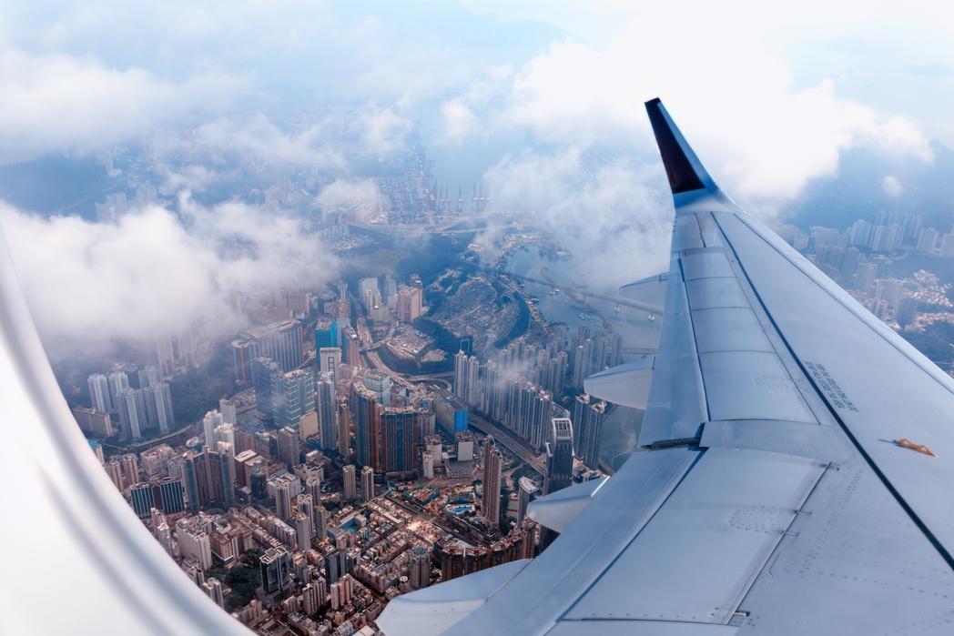 Φωτογραφία του αστικού τοπίο απ' το αεροπλάνο - βιώσιμος τουρισμός, top tips