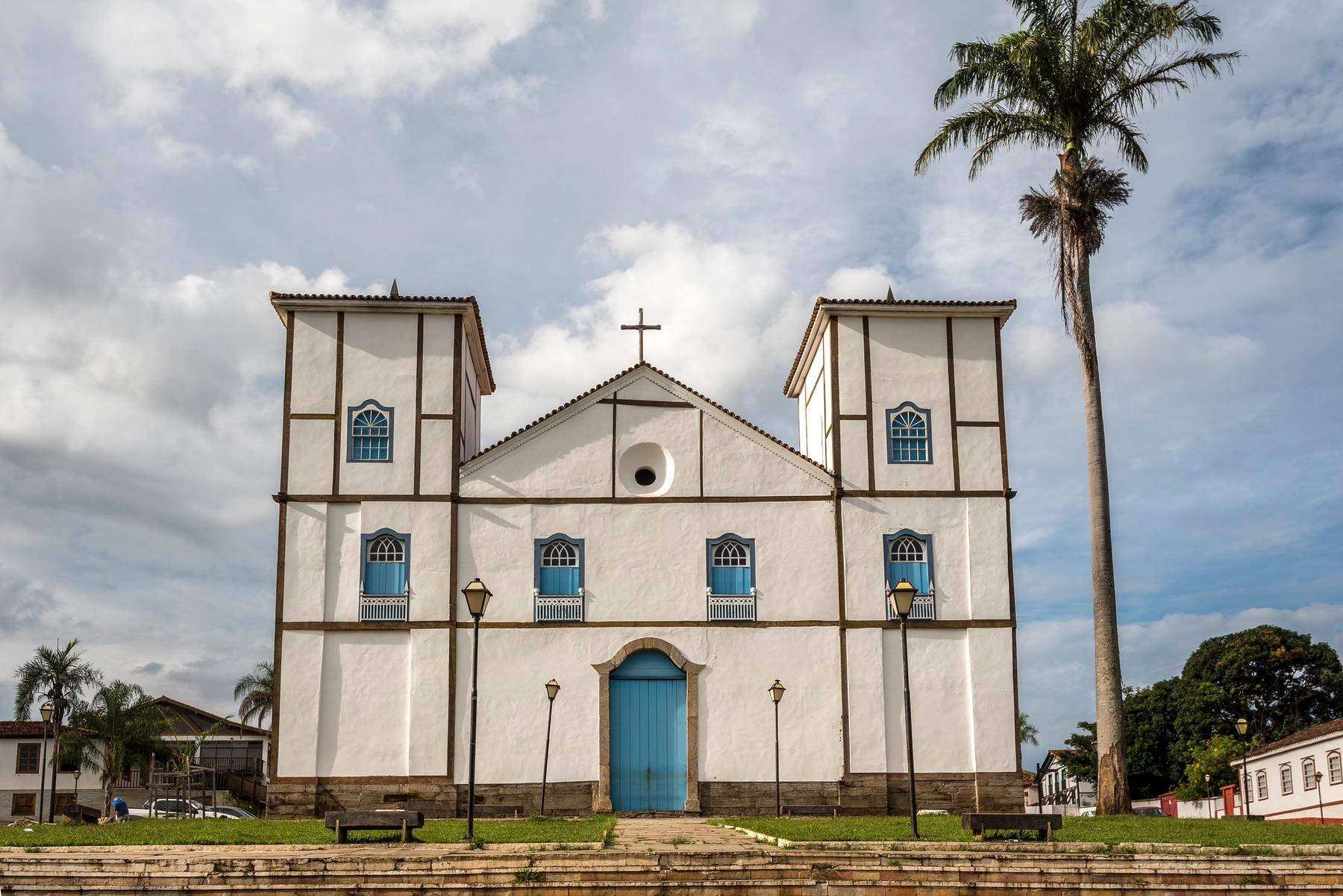 Igreja Matriz de Nossa Senhora do Rosário em Pirenópolis