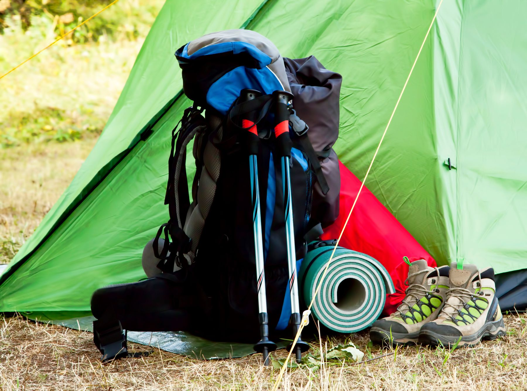 tips for camping in the UK
