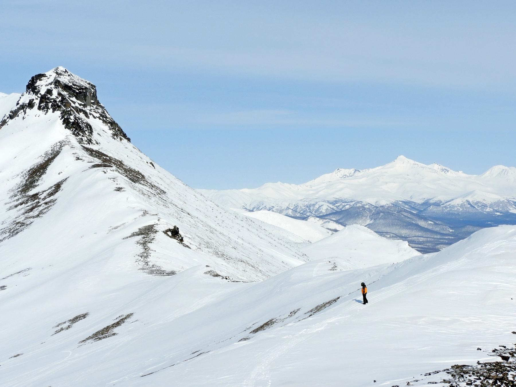 Активный отдых на Камчатке: хели-ски