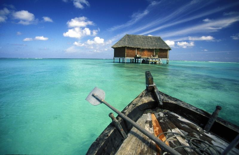 Orte, an denen ihr eine Zombi-Apokalypse überleben könntet: Malediven, Indischer Ozean