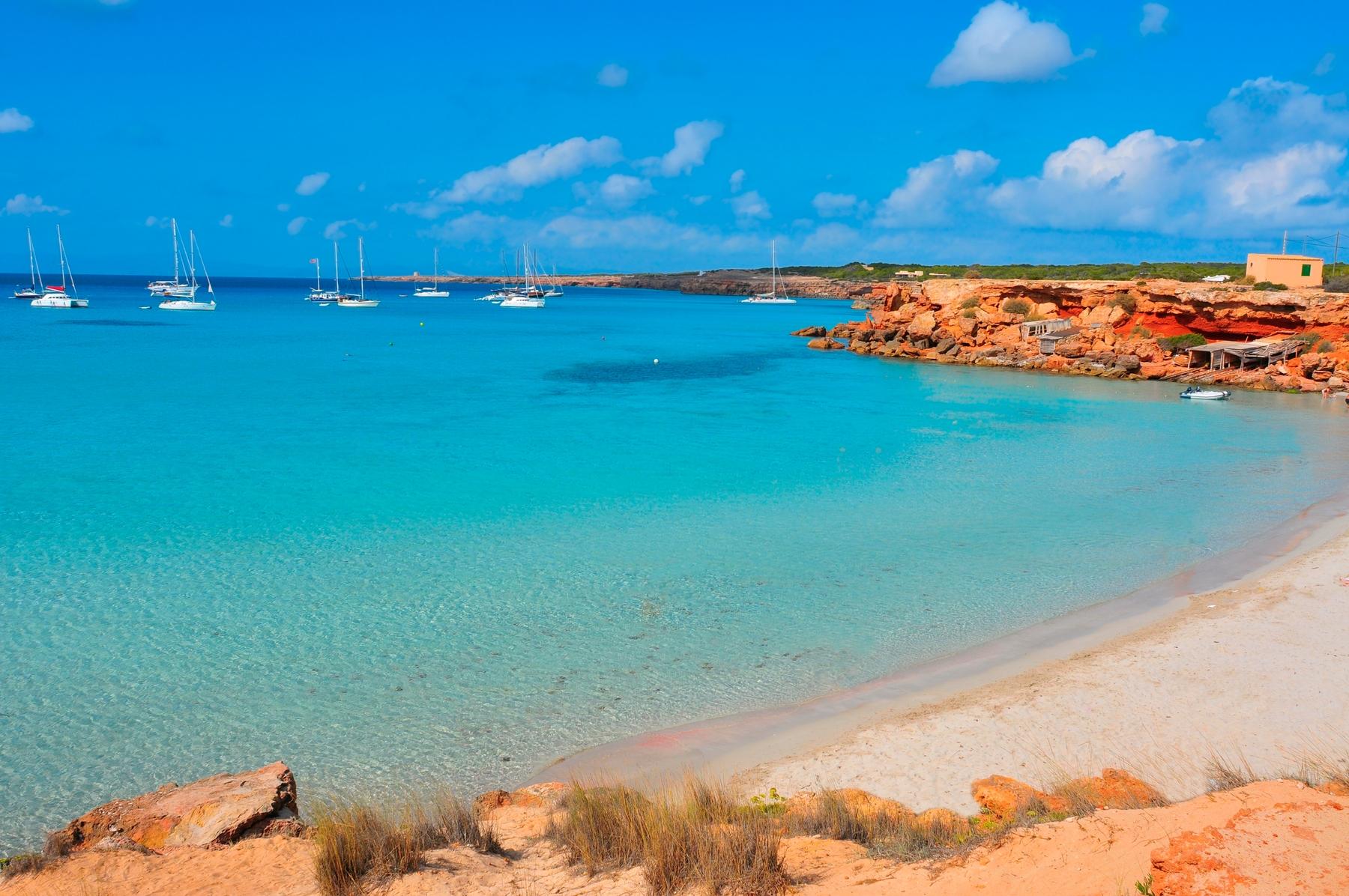 Spiagge Formentera: Es Arenals