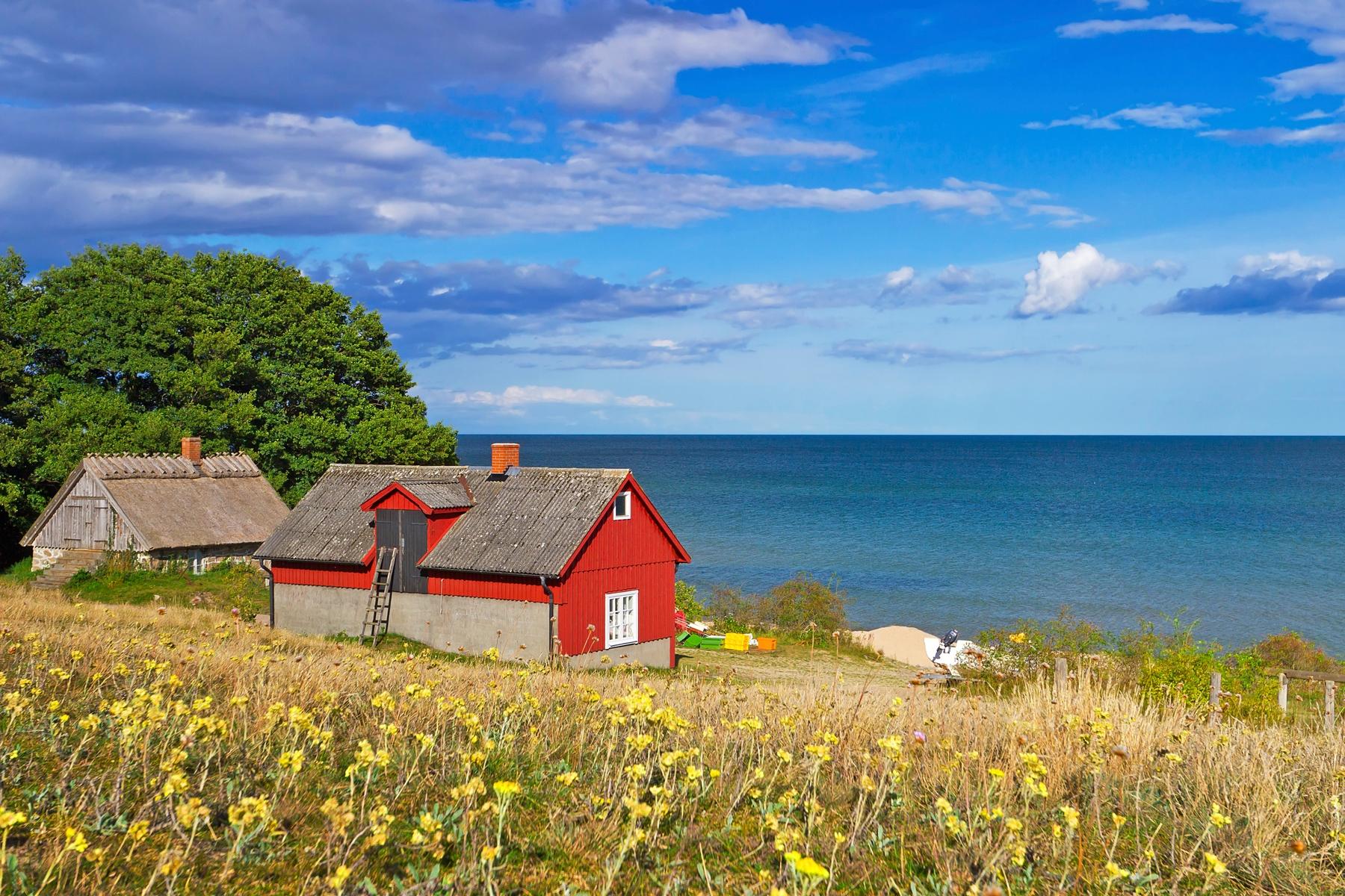 Midzomernacht Zweden vakantie