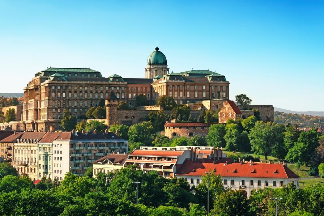 To Kάστρο της Βούδας στην Βουδαπέστη της Ουγγαρίας - Πάσχα 2020 στην Ευρώπη