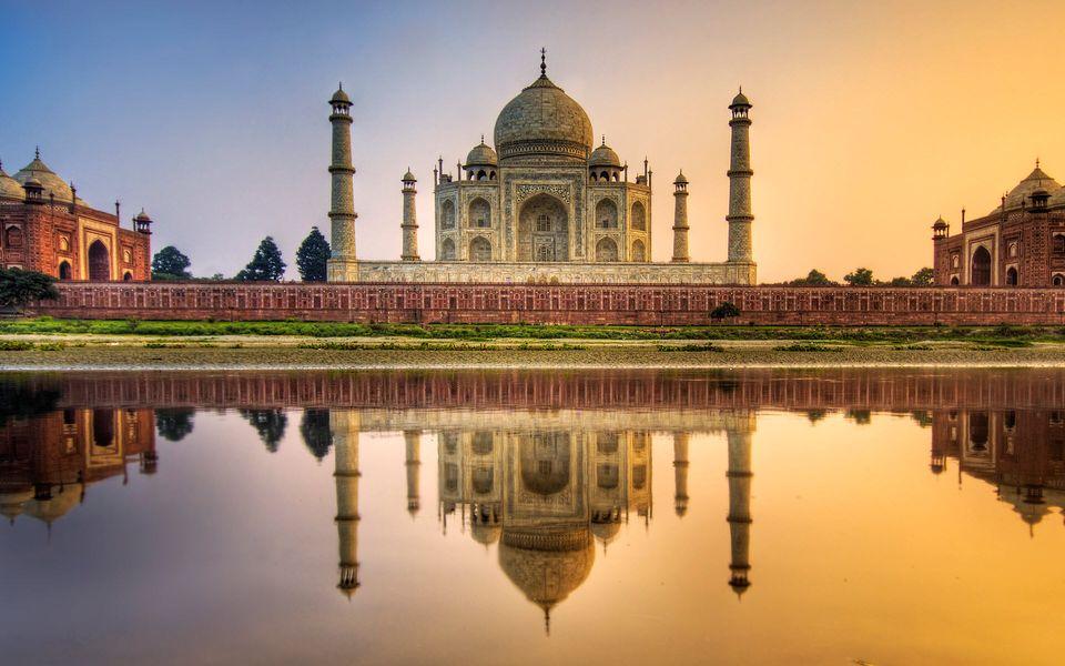Тадж-Махал в Индии
