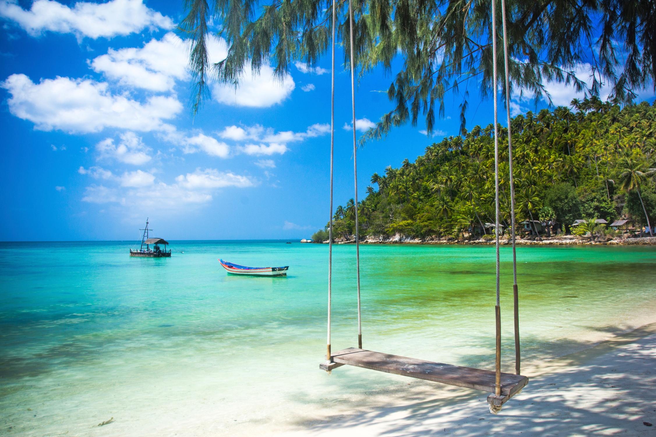 Wakacje na wyspie w tajlandzkim raju